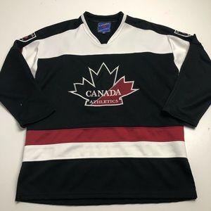 Canada Athletics Hockey Youth XXL Jersey